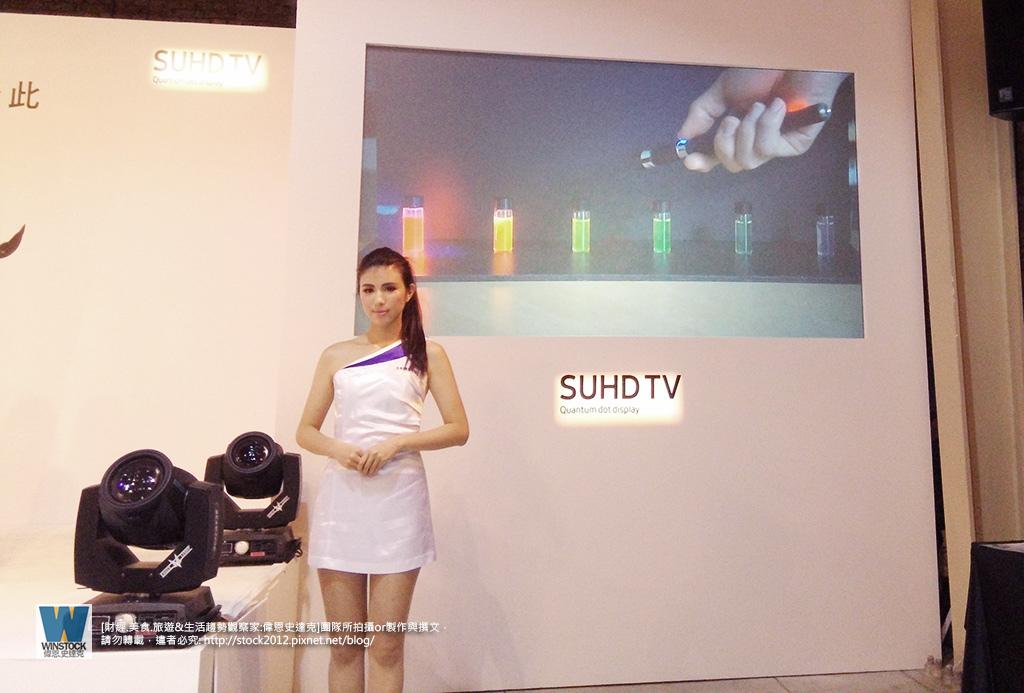 三星Samsung,SUHD TV超4K電視體驗會 2016智慧電視再進化,彎曲曲面螢幕高擬真度,HDR 1000真實色彩呈現 (ULTRA HD,量子點顯色技術) (14)