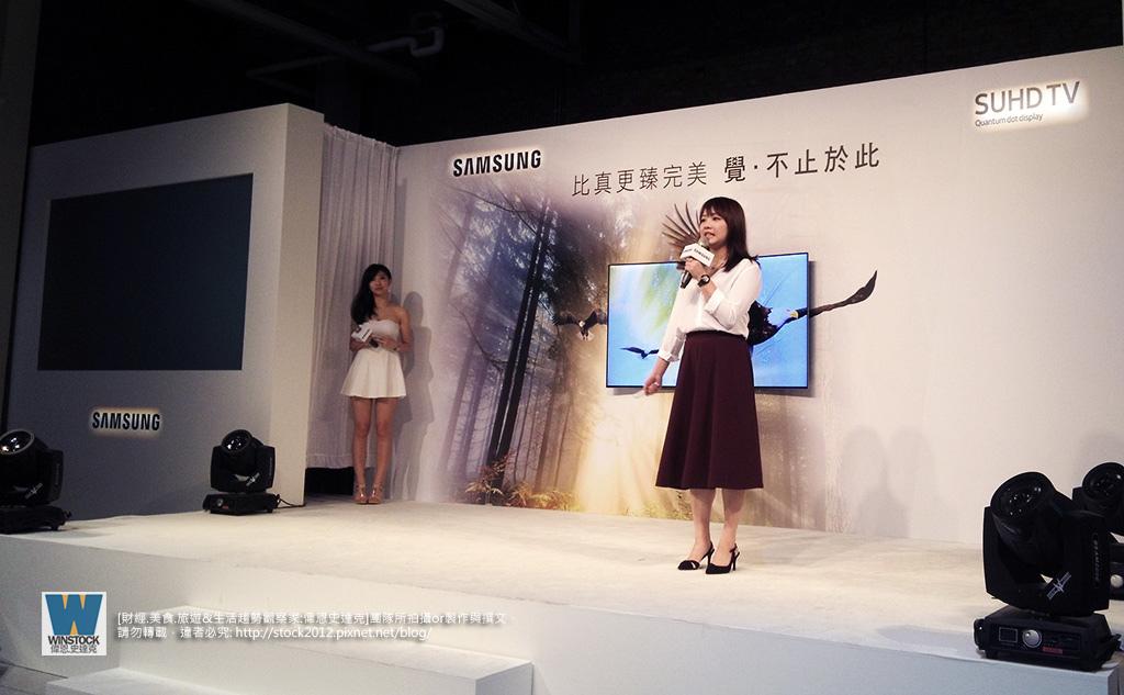 三星Samsung,SUHD TV超4K電視體驗會 2016智慧電視再進化,彎曲曲面螢幕高擬真度,HDR 1000真實色彩呈現 (ULTRA HD,量子點顯色技術) (12)