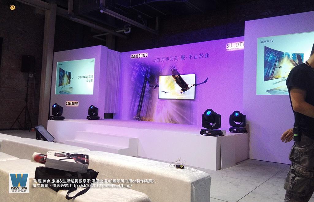 三星Samsung,SUHD TV超4K電視體驗會 2016智慧電視再進化,彎曲曲面螢幕高擬真度,HDR 1000真實色彩呈現 (ULTRA HD,量子點顯色技術) (8)