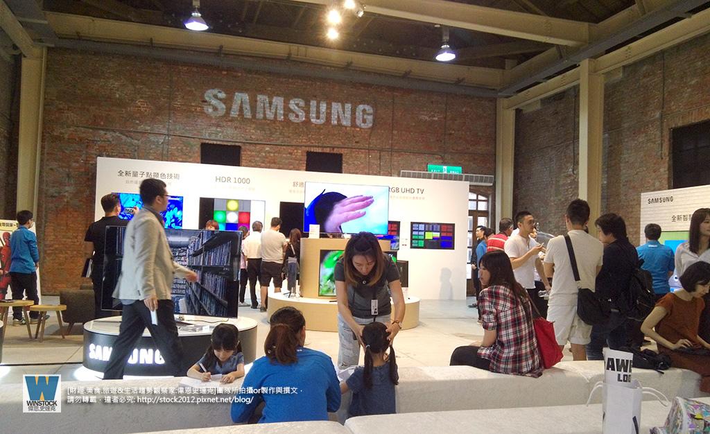 三星Samsung,SUHD TV超4K電視體驗會 2016智慧電視再進化,彎曲曲面螢幕高擬真度,HDR 1000真實色彩呈現 (ULTRA HD,量子點顯色技術) (28)
