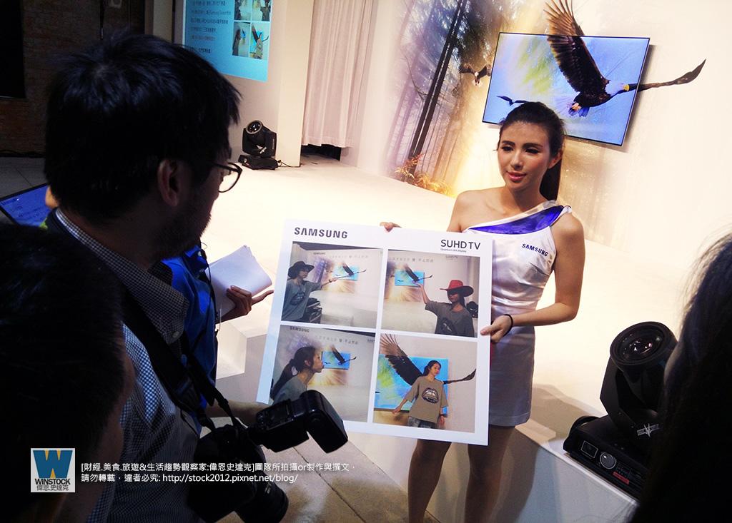 三星Samsung,SUHD TV超4K電視體驗會 2016智慧電視再進化,彎曲曲面螢幕高擬真度,HDR 1000真實色彩呈現 (ULTRA HD,量子點顯色技術) (27)