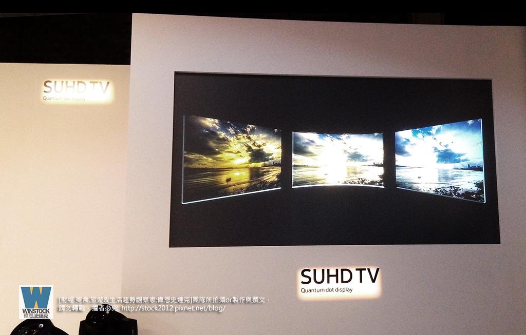 三星Samsung,SUHD TV超4K電視體驗會 2016智慧電視再進化,彎曲曲面螢幕高擬真度,HDR 1000真實色彩呈現 (ULTRA HD,量子點顯色技術) (25)