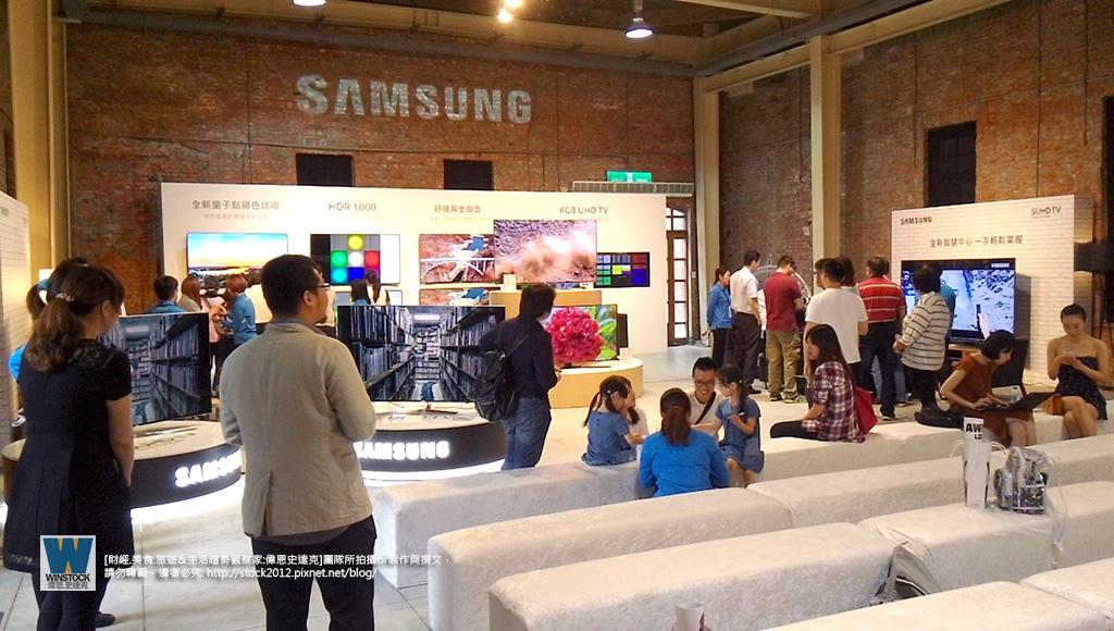 三星Samsung,SUHD TV超4K電視體驗會 2016智慧電視再進化,彎曲曲面螢幕高擬真度,HDR 1000真實色彩呈現 (ULTRA HD,量子點顯色技術) (53)