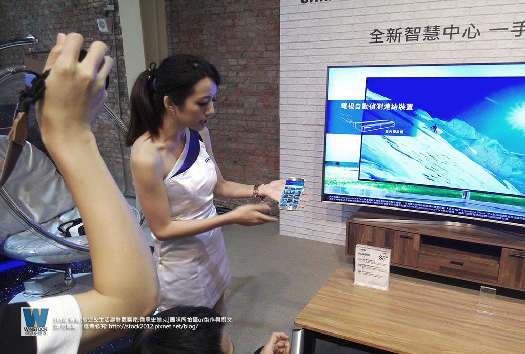 三星Samsung,SUHD TV超4K電視體驗會 2016智慧電視再進化,彎曲曲面螢幕高擬真度,HDR 1000真實色彩呈現 (ULTRA HD,量子點顯色技術) (46)
