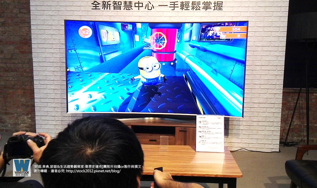 遊戲中心,三星Samsung,SUHD TV超4K電視體驗會: 2016智慧電視再進化,彎曲曲面螢幕高擬真度,HDR 1000 nits 真實色彩呈現 (ULTRA HD,全新量子點顯色技術,原生黑面板,TIZEN 作業系統,微邊框設計)55