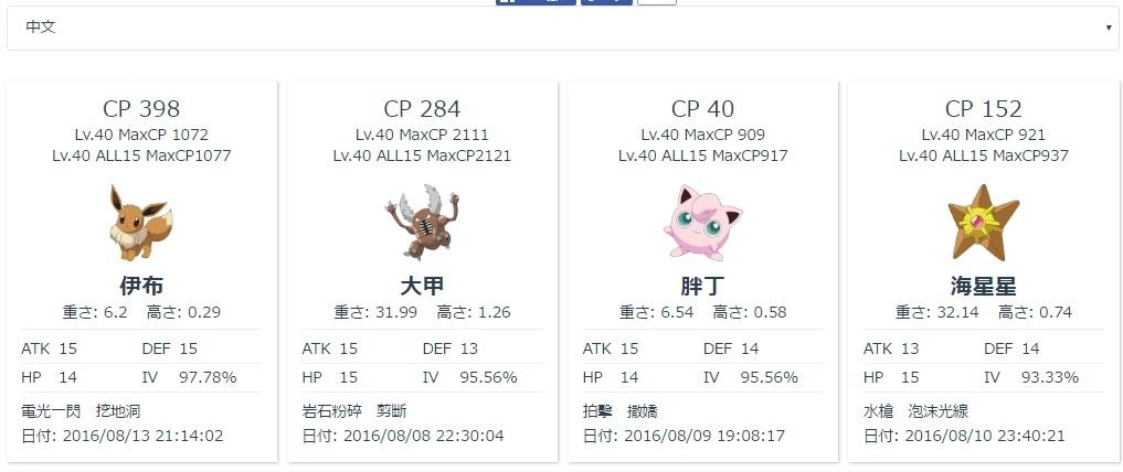 Pokemon GO,寶可夢精靈,教學IV值查詢神奇寶貝技能素質進化 (APK,CV值,外掛,下載,地圖,IOS,Android,道館,飛人)
