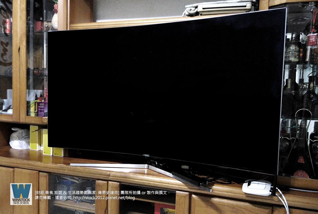 三星 samsung SUHD tv 65吋 ua65ks9000w,超4k電視彎曲曲面,價格開箱 (22)