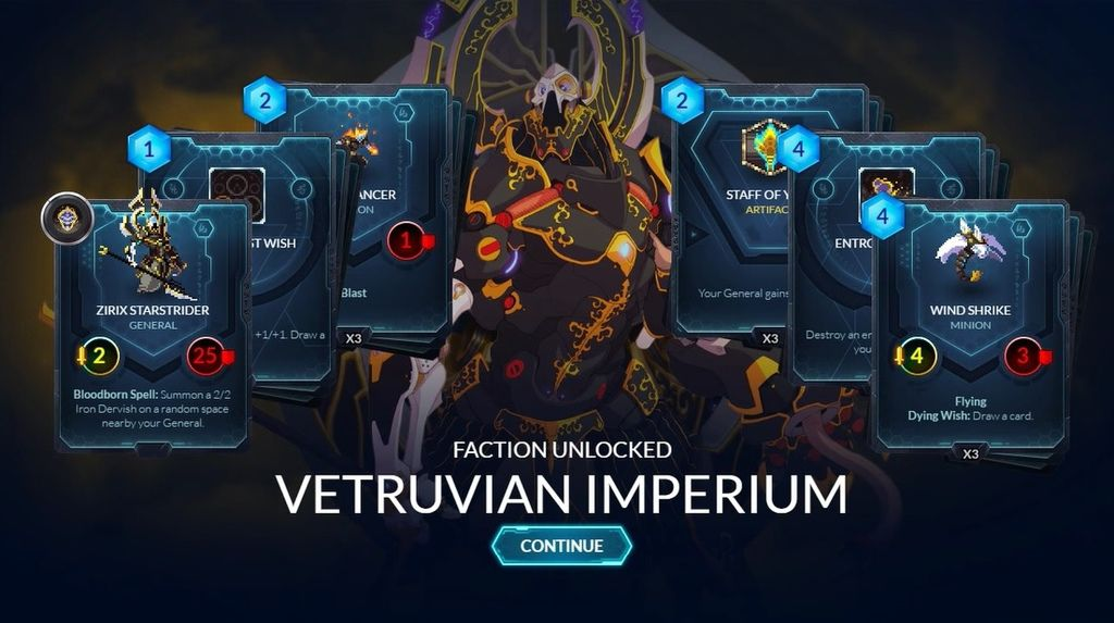 決鬥英雄(Duelyst) 攻略卡牌策略遊戲牌組外掛下載,deck,songhai empire,vetruvian imperium,abyssian host,magmar aspects,vanar kindred)2
