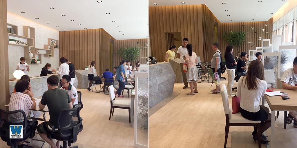 上東城建案參訪,接待中心1