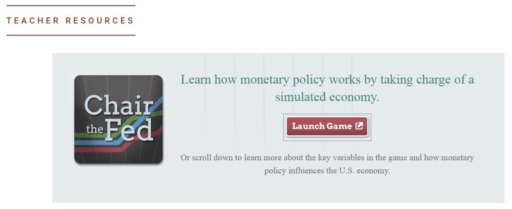 Fed利率升息降息專業遊戲app,聯準會主席換你當,控制失業率與通貨膨脹,菲利普曲線 (Phillips Curve) (Federal revserve Bank)1
