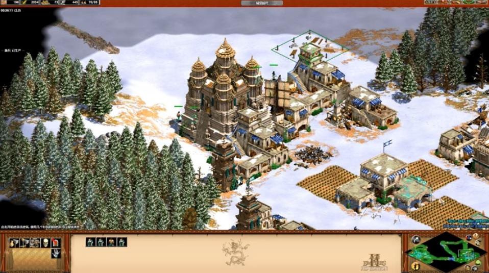 世紀帝國2 HD 攻略教學拉惹的崛起,王者崛起 Rise of the Rajas 下載資料片新種族分析與測試影片 (Age of Empires II,連線,密技)