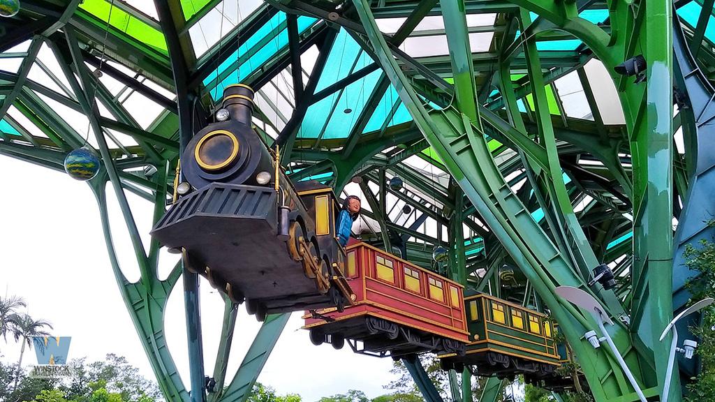 宜蘭景點旅遊推薦,幾米公園廣場,飛天火車3