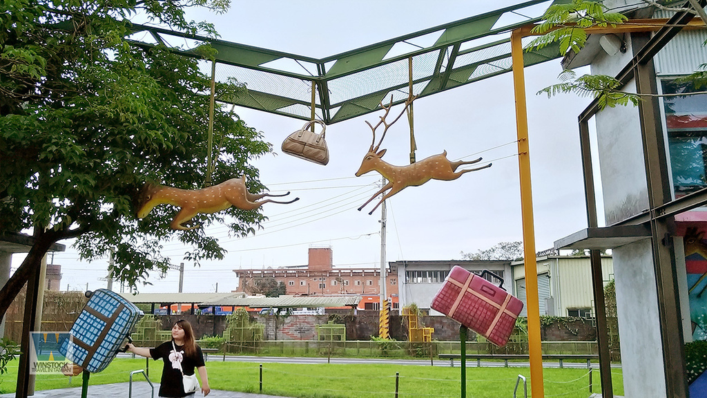 宜蘭景點旅遊推薦,幾米公園廣場,充滿吉米插畫場景的拍照與創意天地 (向左走向右走,火車站) (13)