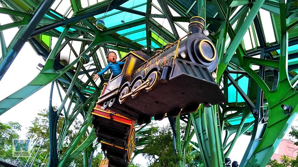 宜蘭景點旅遊推薦,幾米公園廣場,飛天火車1