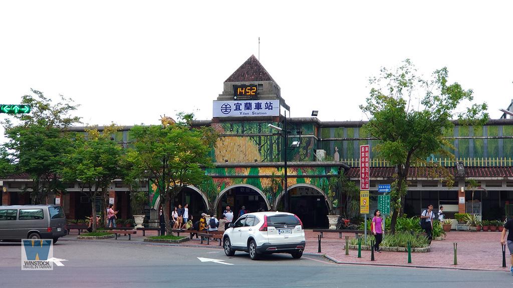 宜蘭景點旅遊推薦,幾米公園廣場,充滿吉米插畫場景的拍照與創意天地 (向左走向右走,火車站) (2)