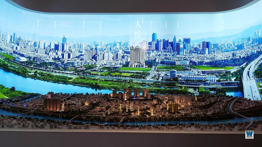 興富發大悅建案賞屋評價心得,新板特區、江翠河岸公園與435藝文特區優美環境 (5)