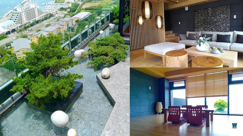 淡水一森原建案評價賞屋參訪,森源建設海景優質溫泉休閒住宅樣品屋,日式
