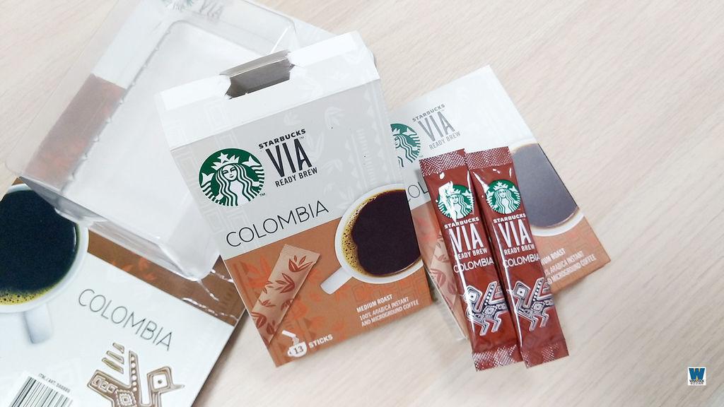 starbucks,星巴克哥倫比亞即溶研磨咖啡,推薦,開箱,買一送一優惠