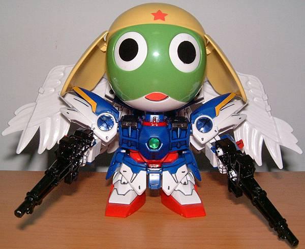 Keroro in W-Gundam Zero Custom