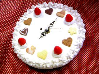 奶油蛋糕時計