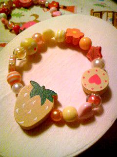 草莓糖果手鍊