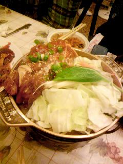鐵盤烤肉(豬)