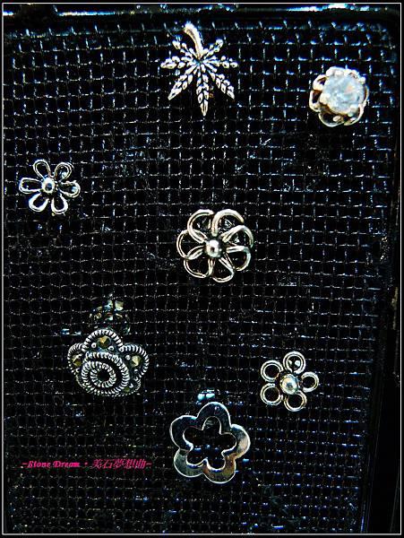 針式耳環-925