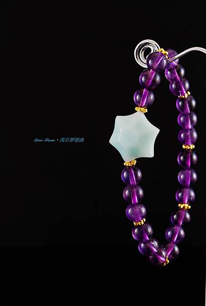 星星天河紫水晶手珠