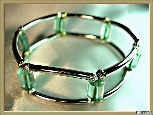 【綠螢石】手環