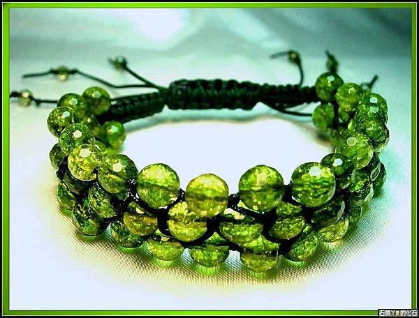 【貴橄欖石】手環