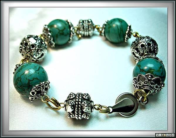 *古典時尚風*【綠松石 手環