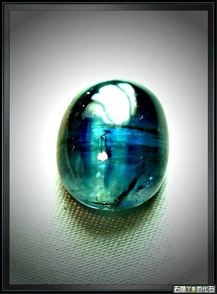 【藍晶石 (碧藍) 】戒面裸石