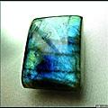 寶石級【拉不拉多石】(皇家藍變彩)戒面裸石