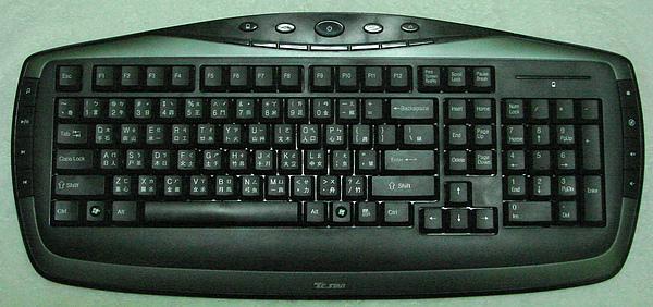 開箱後-鍵盤正面