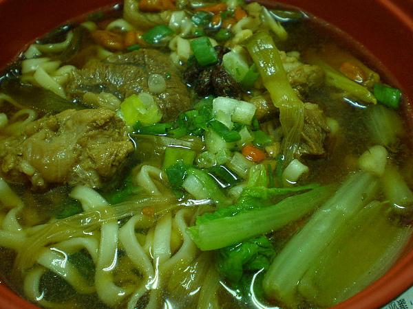 蔥燒牛肉麵6