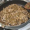 炒肉絲+榨菜