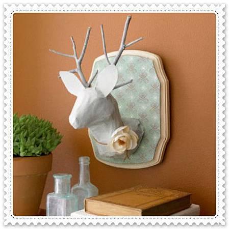DIY2 鹿頭標本
