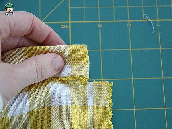 一款簡單的布藝收納袋4.