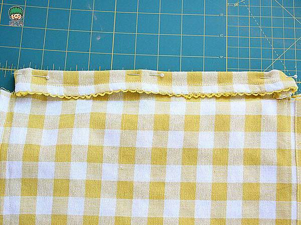 一款簡單的布藝收納袋5.