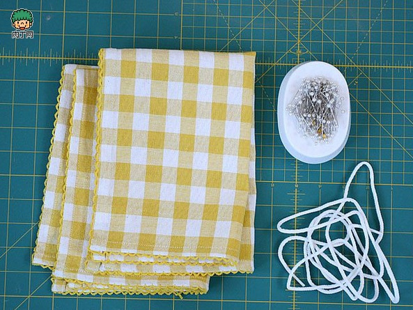 一款簡單的布藝收納袋2.