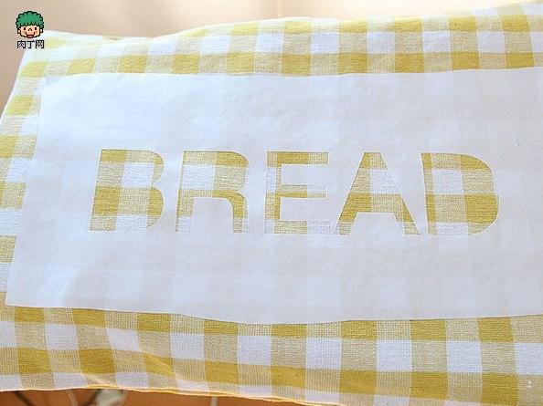 一款簡單的布藝收納袋12.
