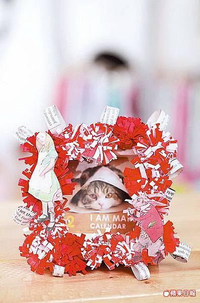 紅包袋做紙球籃13.