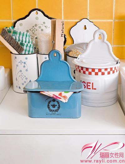 搪瓷罐變身清潔道具