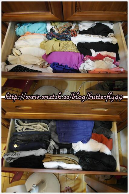 衣櫃爆炸了!!快用簡單收納小方法13.