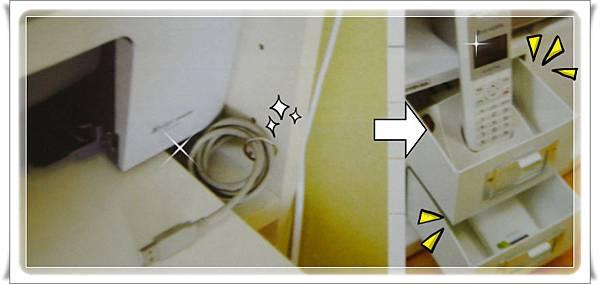 p54 放置充電器的檯子
