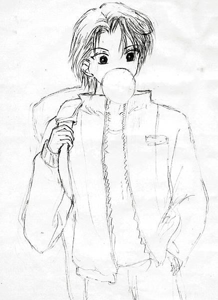 網球王子--越前龍馬(髮型更改)