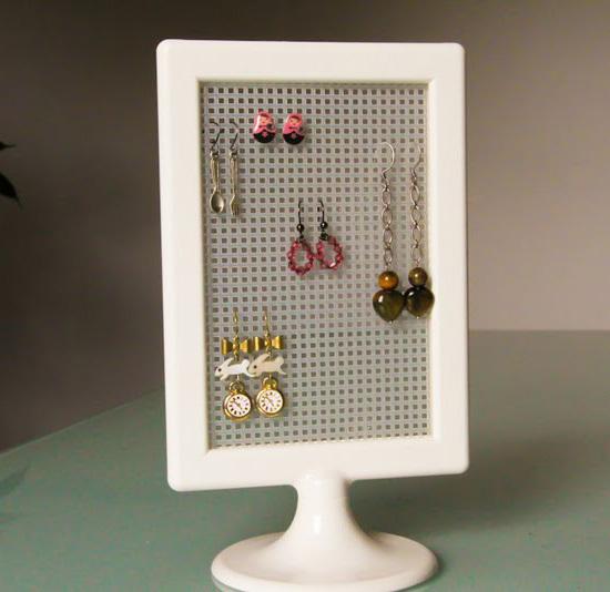 創意DIY 巧制廢棄首飾和小物件收納品1.
