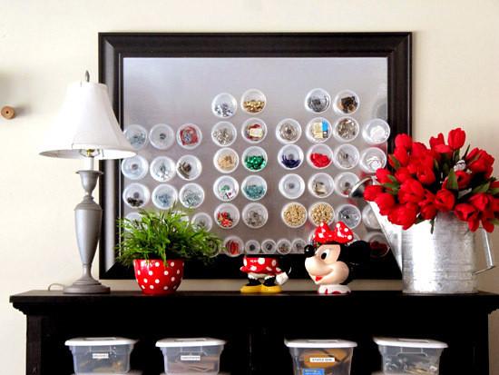 創意DIY 巧制廢棄首飾和小物件收納品5.