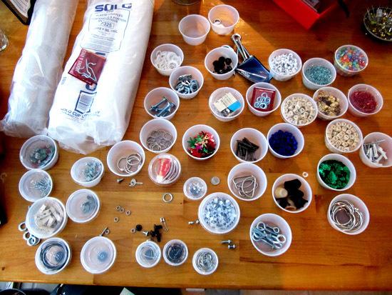 創意DIY 巧制廢棄首飾和小物件收納品6.