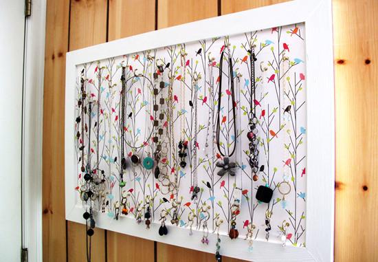 創意DIY 巧制廢棄首飾和小物件收納品4.